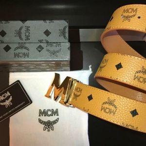 Tan MCM Belt